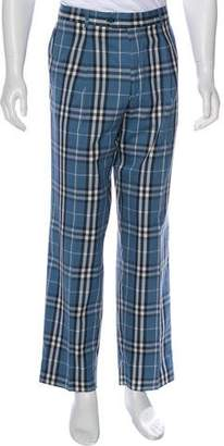 Burberry Nova Check Dress Pants