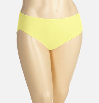 Avenue Yellow Iris Cotton Hi Cut Panty