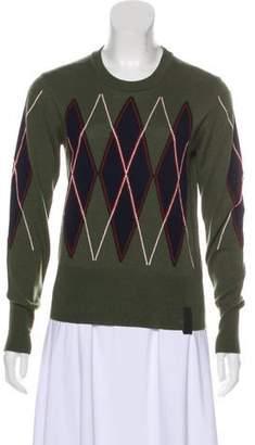 03c7840530 Argyle Crewneck Sweater - ShopStyle