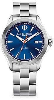 Baume & Mercier Women's Clifton Club Blue Stainless Steel Watch