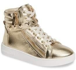 MICHAEL Michael Kors Ivy Rox Metallic High Top Sneaker