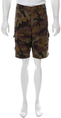 Valentino Camouflage Cargo Shorts w/ Tags
