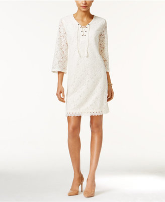 Style & Co Lace Peasant Dress, Only at Macy's $59.50 thestylecure.com