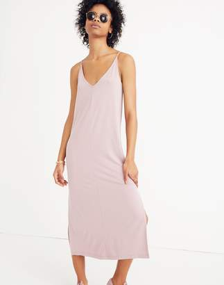 Madewell Sandwashed Midi Slip Dress