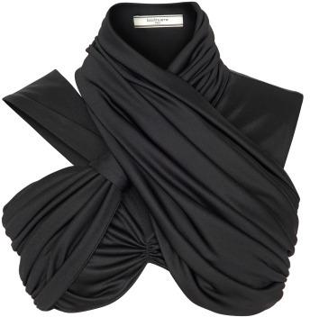 Preorder Bouchra Jarrar Fluid Jersey Draped Crop Top