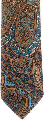 BrioniBrioni Paisley Print Silk Tie