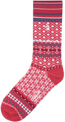 Original Penguin COZY FAIR ISLE SOCK