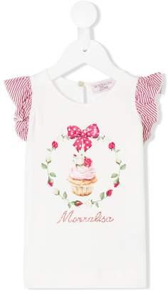MonnaLisa cupcake print top