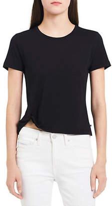 Calvin Klein Jeans Twisted Short-Sleeve Tee