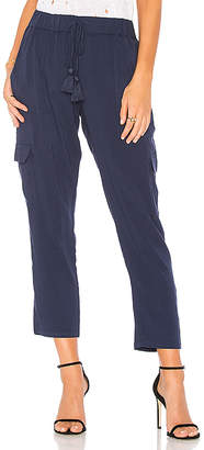 Soft Joie Marquette Pant in Navy $178 thestylecure.com