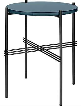 Gubi Ts Side Table Round 40Cm Navy Blue