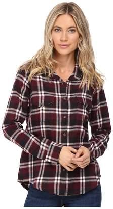 RVCA Jig 5 Top Women's Long Sleeve Button Up
