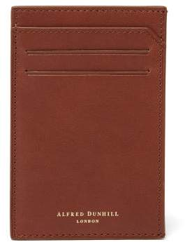 Dunhill Duke 6cc Leather Cardholder - Mens - Black