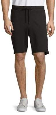 Black & Brown Black Brown Elasticized Drawstring Shorts