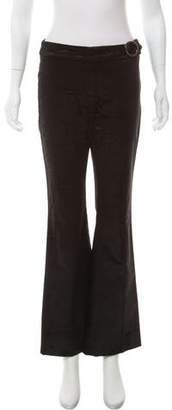 Fendi Corduroy Wide- Leg Pants