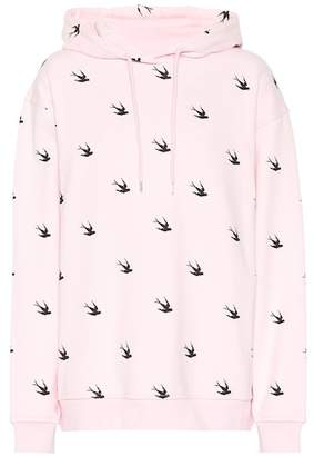 McQ Deco Swallow Boyfriend hoodie