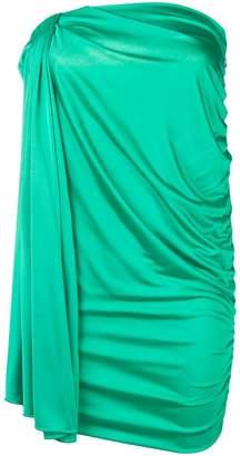 Pinko Eugenia draped mini dress