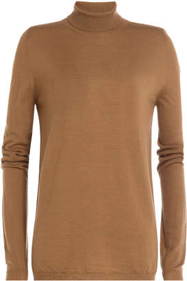 Rick Owens Wool Turtleneck Pullover