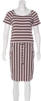 Calvin Klein Striped Midi Dress