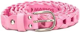 Marios woven buckle belt