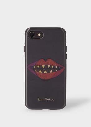 Paul Smith 'Lips' Motif Lenticular iPhone 7 Case