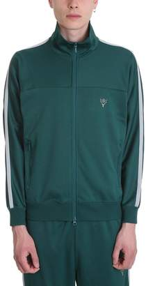South2 West8 Green Polyester Sweatshirt