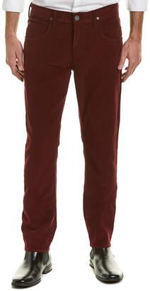 Hudson Jeans Jeans Blake Maroon Slim Straight Leg