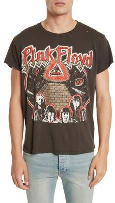 MadeWorn Pink Floyd Glitter Graphic T-Shirt