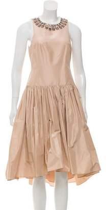 Rebecca Taylor Silk Midi Dress w/ Tags
