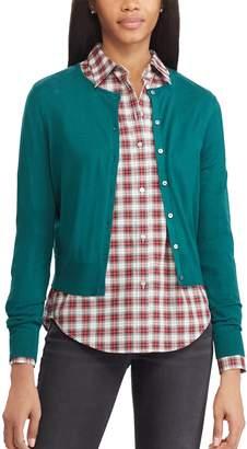 Chaps Women's Cropped Cardigan Sweater