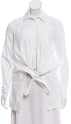 Yigal Azrouel Button-Up Wrap Top
