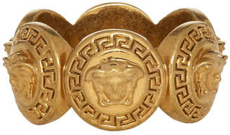 Versace Gold Tribute Medusa Ring
