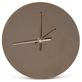 Minimalux - Metal Clock - Black