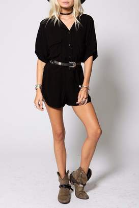 Stillwater Painters Black Romper