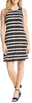 Karen Kane Striped A-Line Tank Dress