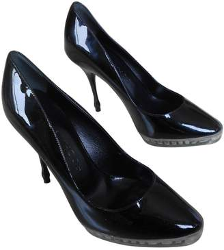 Rochas Black Patent leather Heels