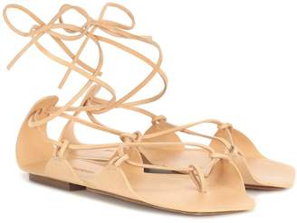 Jil Sander Exclusive to Mytheresa leather sandals