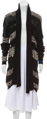 AllSaints Open-Front Knit Sweater