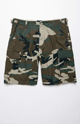 Obey Recon II Camouflage Cargo Shorts