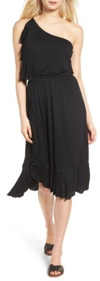 Women's Ella Moss Gioannia One-Shoulder Dress $198 thestylecure.com