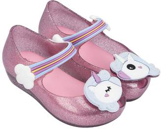 Melissa Girls Mini Ultragirl Unicorn Mary Jane Flat
