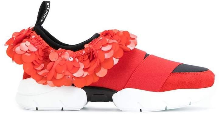 sequin slip-on sneakers - Red Emilio Pucci qlDiza77