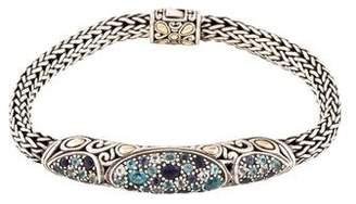 John Hardy Jaisalmer Iolite & Topaz Bracelet