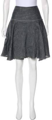 Rag & Bone Denim Circle Skirt