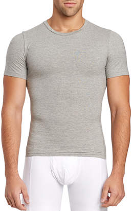 Spanx Heather Grey Compression Tee