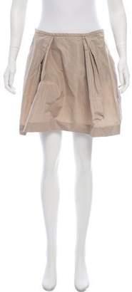 Miu Miu A-Line Mini Skirt