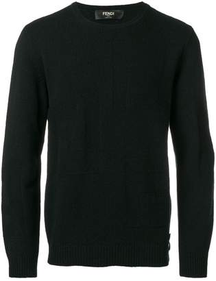 Fendi classic long-sleeve sweater