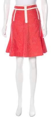 Marc by Marc Jacobs Silk Knee-Length Skirt