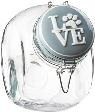 Global Amici Pet Love Hermetic Glass Storage Jar