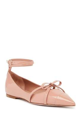 RED Valentino Bow Ankle Strap Flat